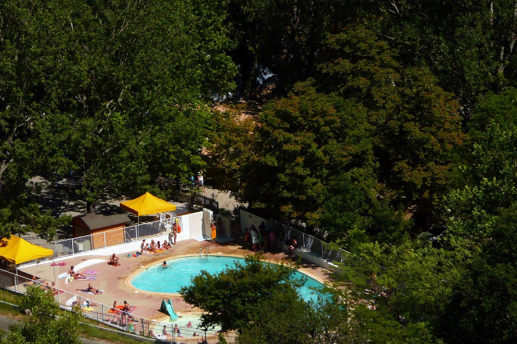 camping verdon piscine chauffée