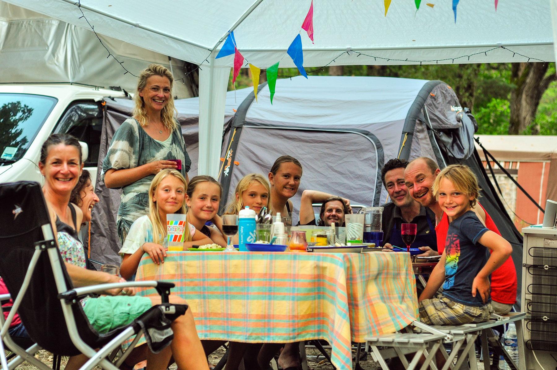 camping pour les tentes castellane