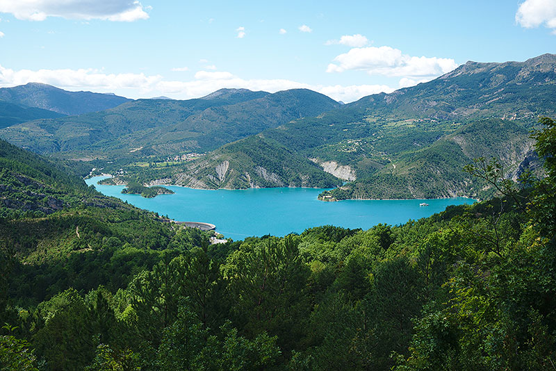 castellane camping provence