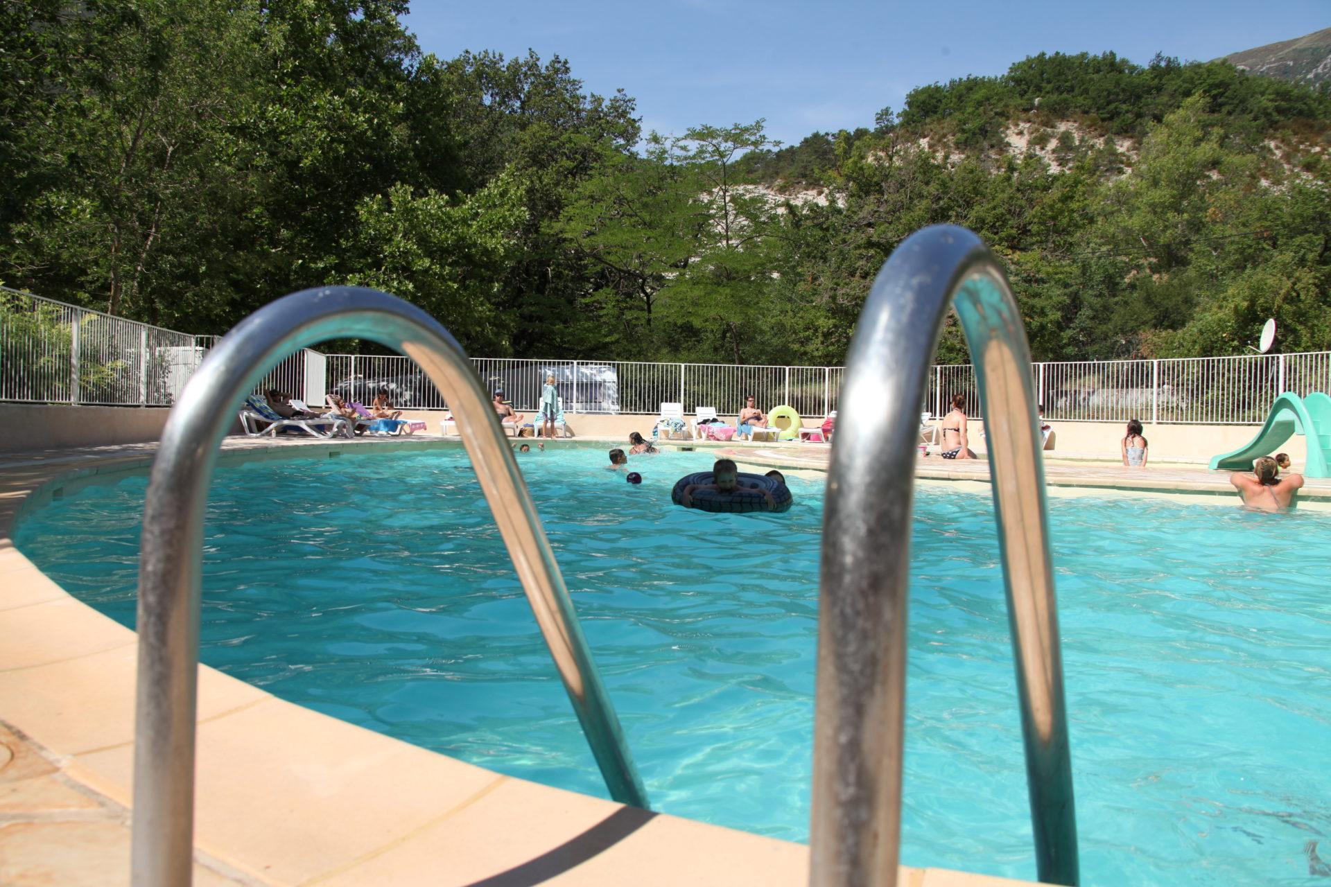 Camping avec piscine pour enfants Gorges du Verdon