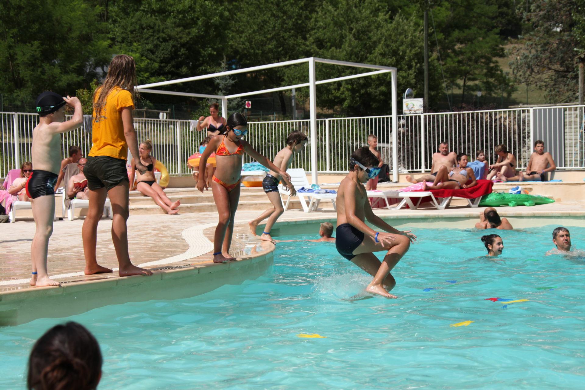 piscine chauffée gorges du verdon