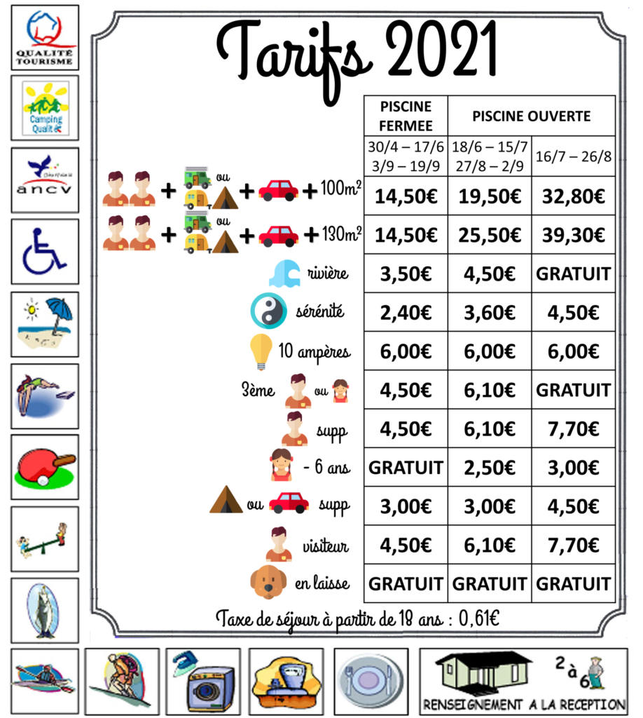 prices next to the river camping gorges du verdon